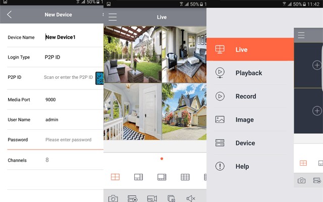 Add new device to WiseView app