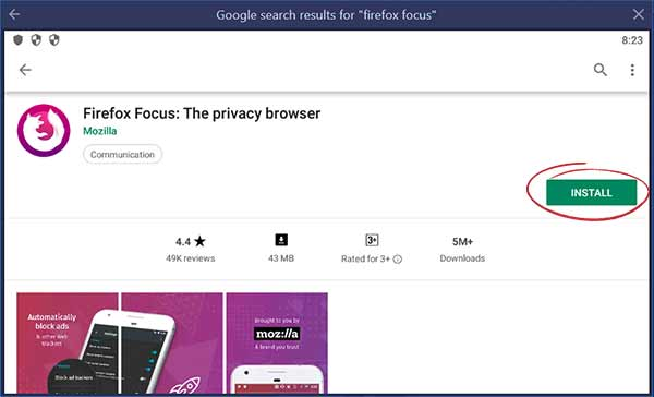 firefox focus for windows 10 download