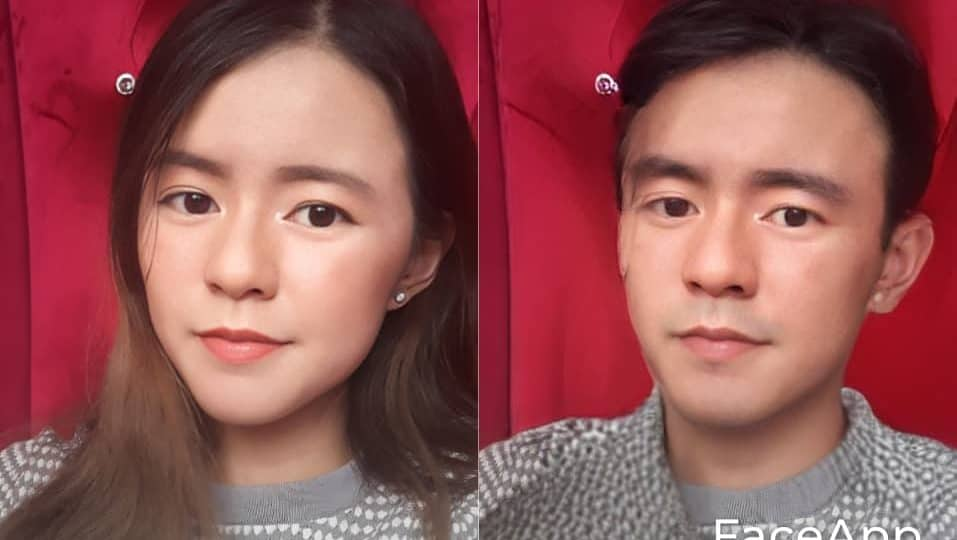 faceapp gender swap