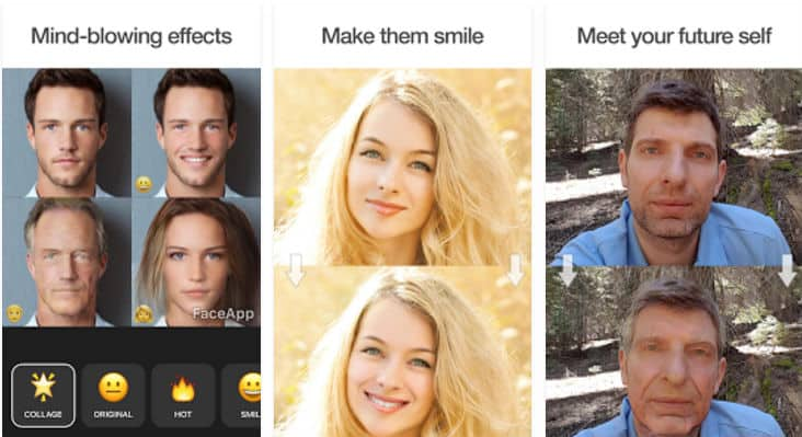 faceapp photo editor