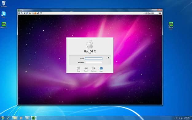 Instaling Mac OS on VM Ware