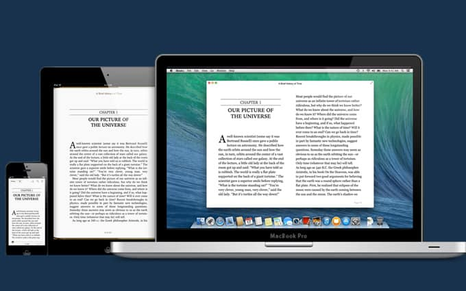 can i read ibooks on my pc
