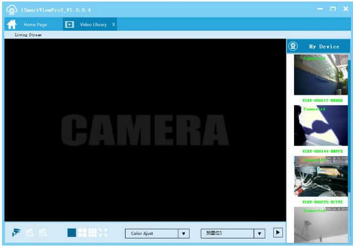 iSmartViewPro video recording