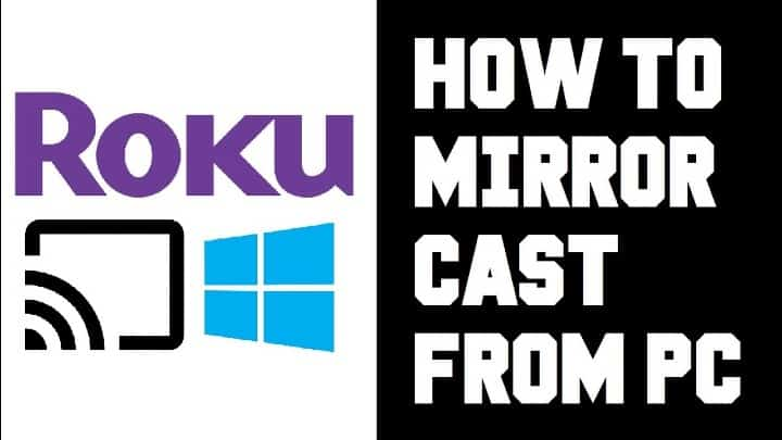 cast to roku from pc