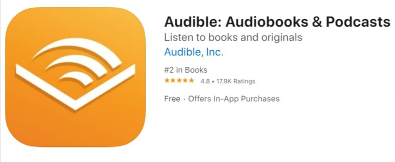 Audible app on the app store