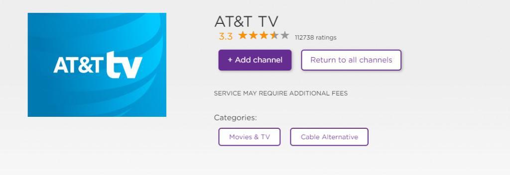 Add DirecTV-on-Roku