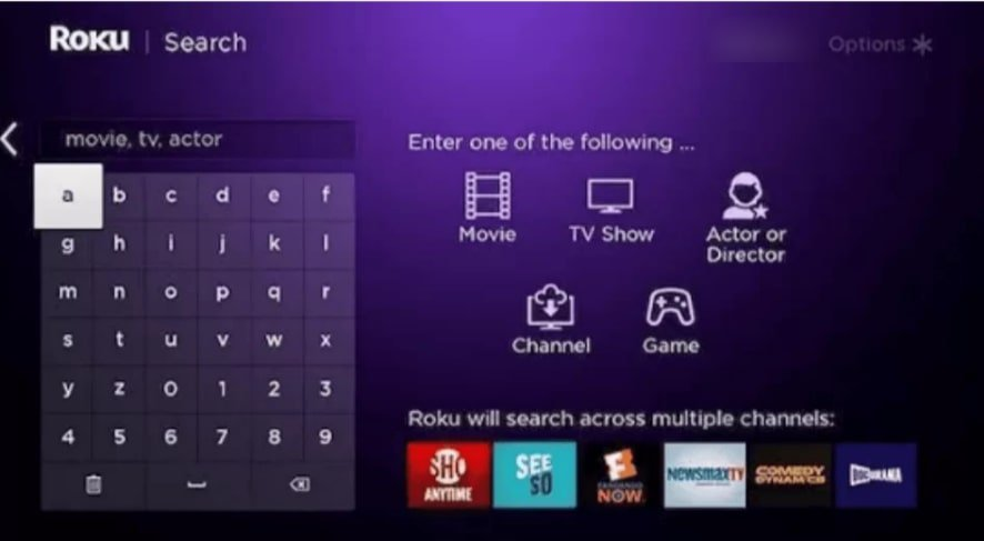 search musiclouds on roku