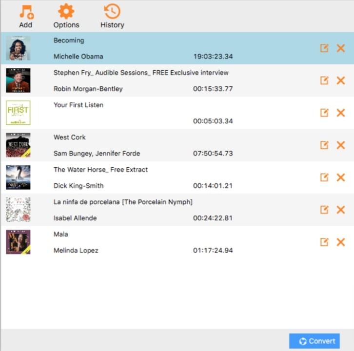 select audiobooks
