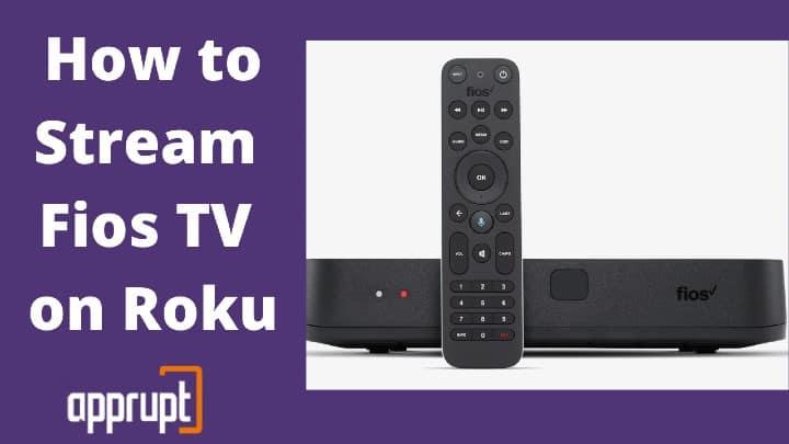 Stream Fios TV on Roku