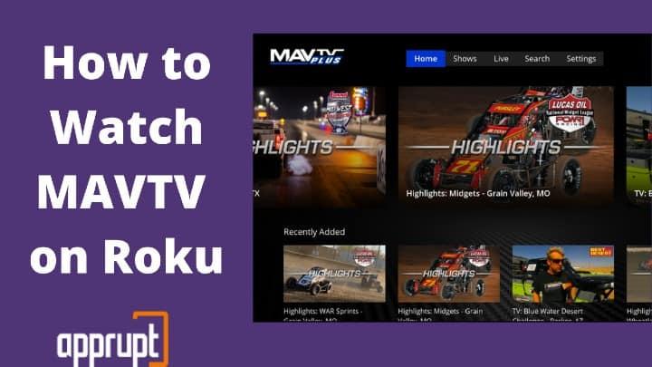 Watch MAVTV Plus on Roku