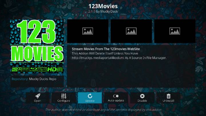 select 123Movies to launch