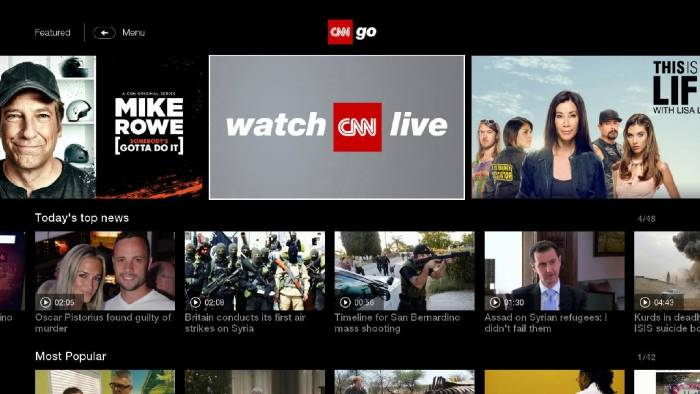 CNNgo live