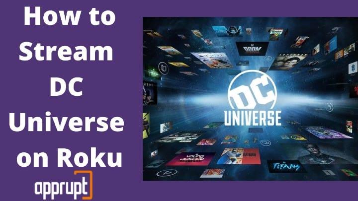 dc universe app on roku