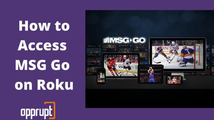 Get MSG on Roku