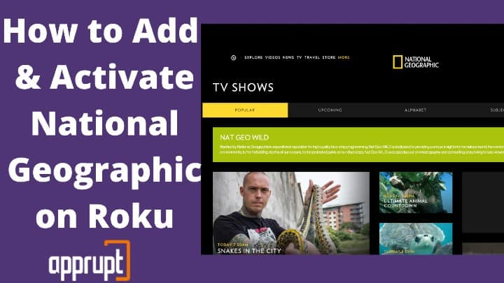 watch national geographic on roku