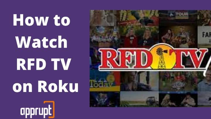 can you get rfd tv on roku