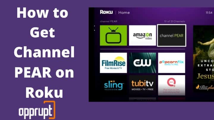 How to Get Channel PEAR on Roku