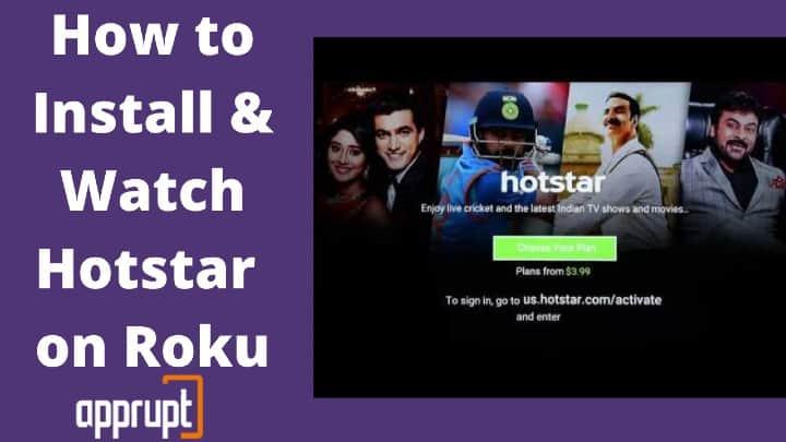hotstar app on roku