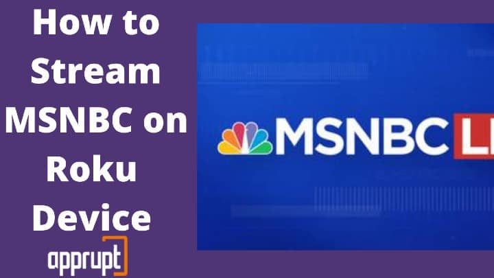 how to watch msnbc on roku