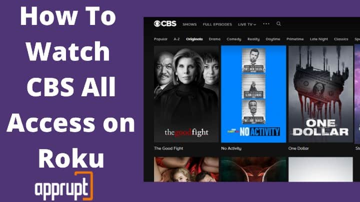 can you get cbs all access on roku