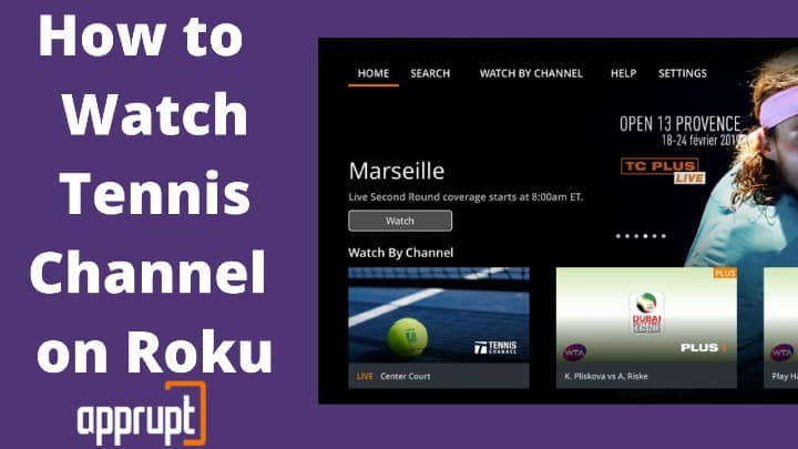 can i get tennis channel plus on roku