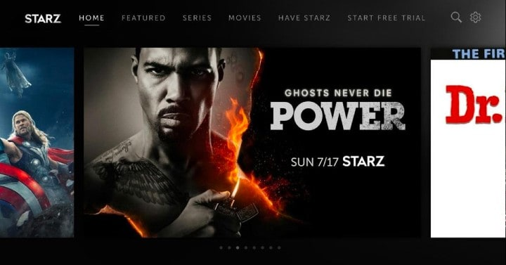 STARZ now available on the Roku platform