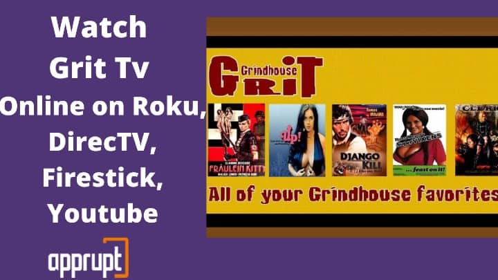 Watch Grit Tv Live Online on Roku, DirecTV, Firestick, Youtube