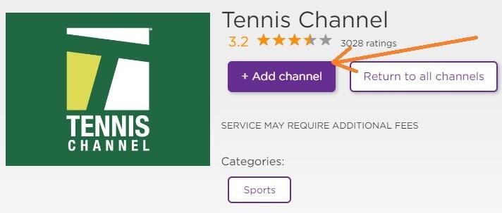 add-tennis-channel-on-roku