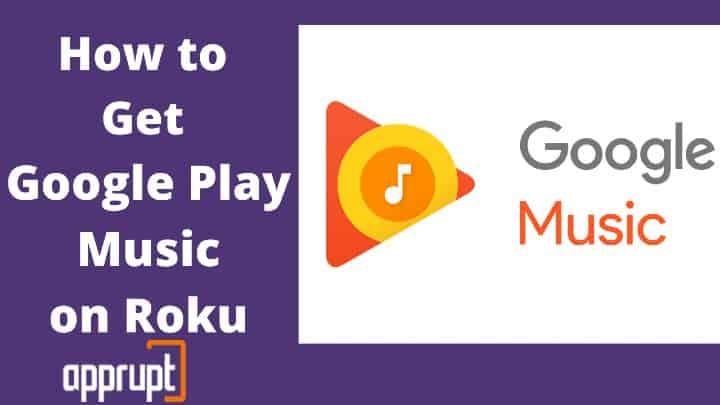 how do i play google play music on roku