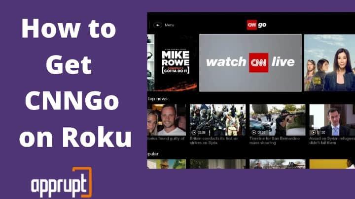 how to watch cnngo on roku