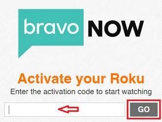 Activate Bravo on Roku