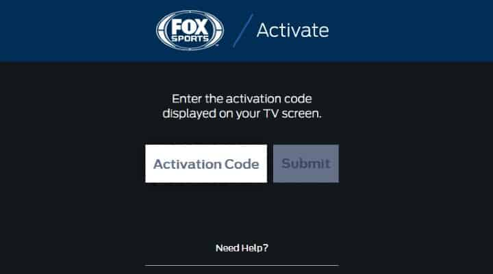 Activate FOX Sports on Roku