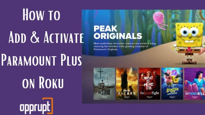 How to Add And Activate Paramount Plus on Roku