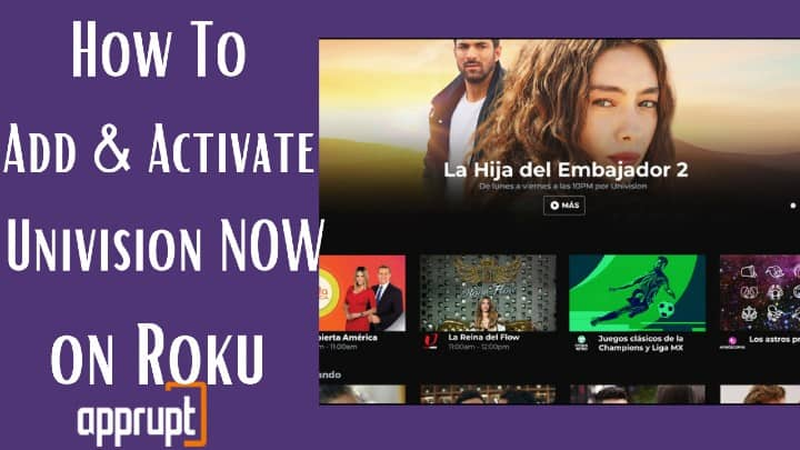how to watch univision on roku
