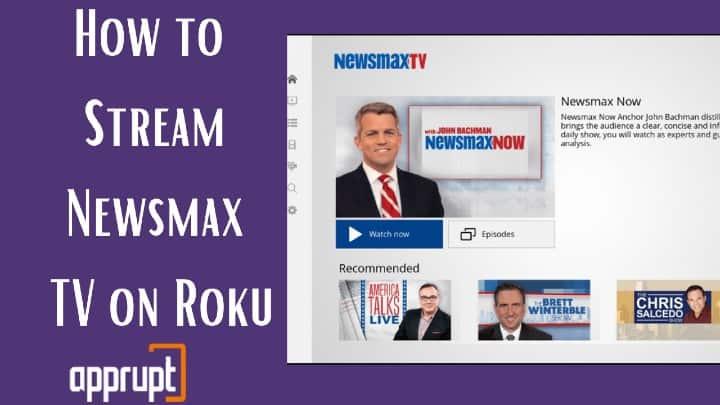 newsmax tv app on roku
