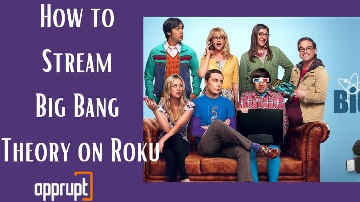 can you watch big bang theory on roku