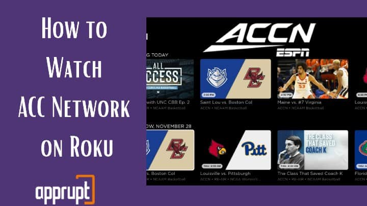 how to get accn on roku