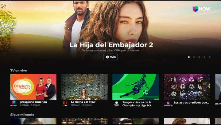 Univision NOW   TV App   Roku Channel Store