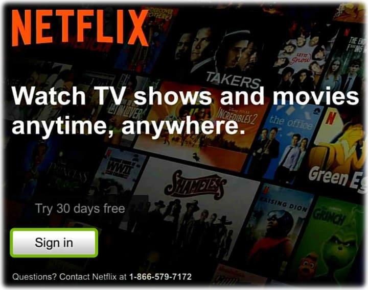 Activate Netflix on Roku