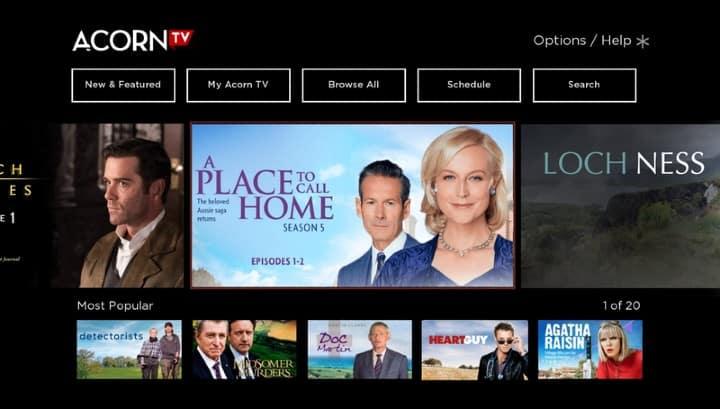acorn tv app on roku