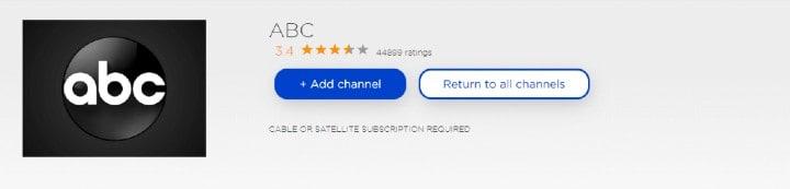 add abc channel on roku