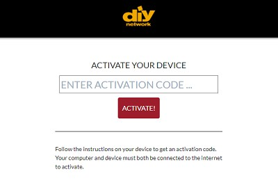 Activate DIY Network