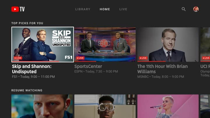 how to watch youtube tv on roku
