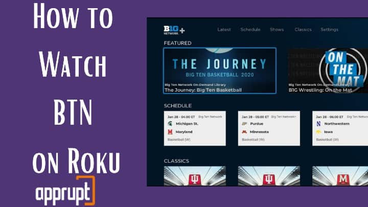 how to watch btn on roku