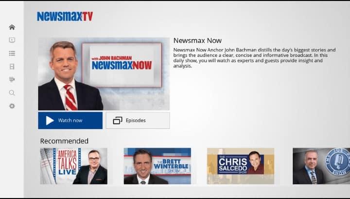 newsmax tv app