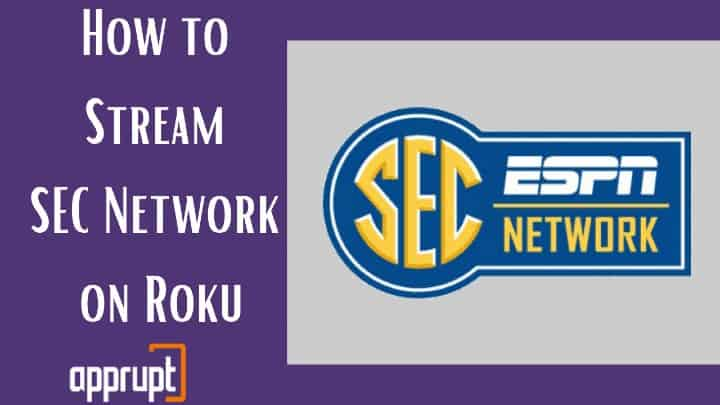 how to watch sec network on roku