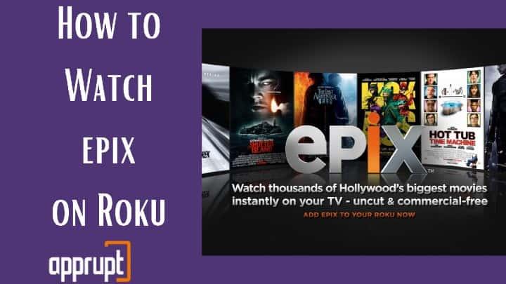 epix channel on roku