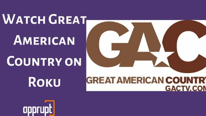 Great American Country on Roku