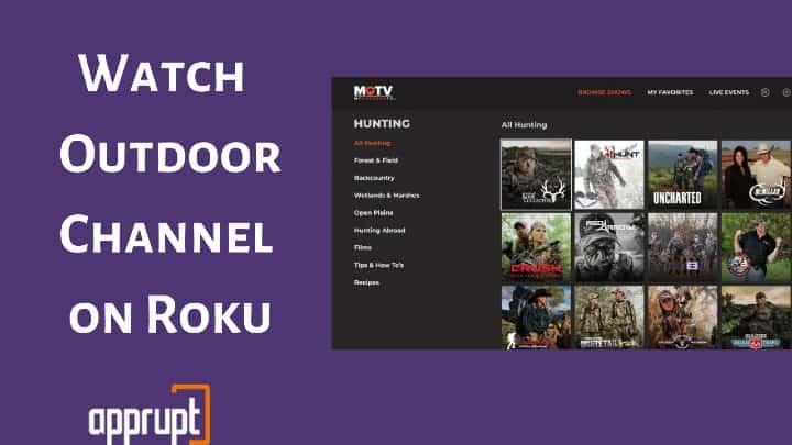 outdoor channel roku