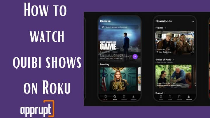 how to watch quibi on roku